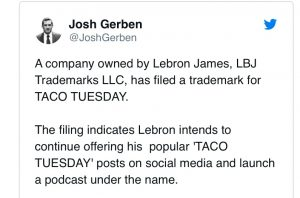 lebron-james-taco-tuesday-trademark-announcement